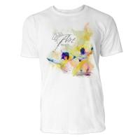 Fechten Battuta Sinus Art ® T-Shirt Crewneck Tee with Frontartwork
