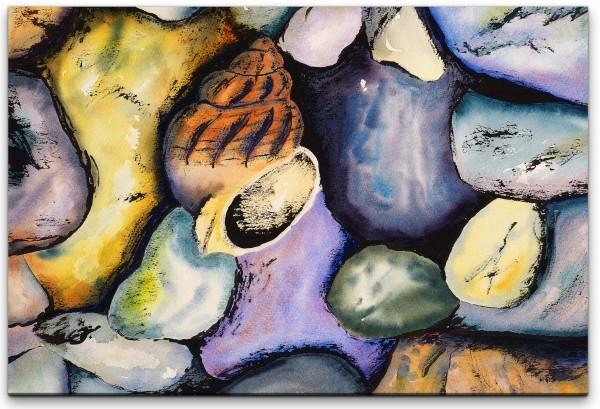 Wasserfarben Wandbild in verschiedenen Größen