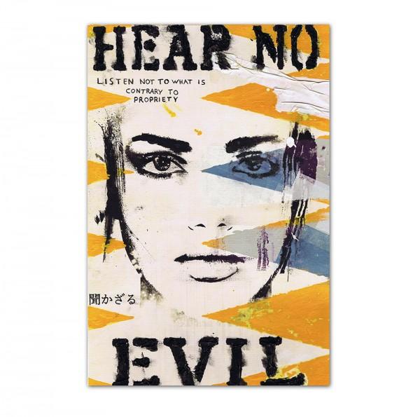 Hear no evil, Art-Poster, 61x91cm