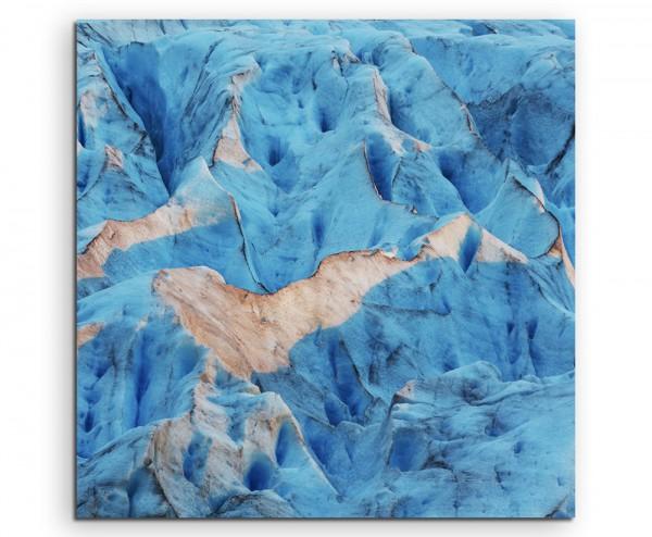 Landschaftsfotografie – Svartisen Gletscher, Norwegen auf Leinwand