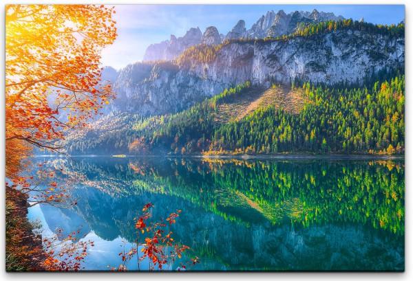 schöne Herbst Landschaft Wandbild in verschiedenen Größen