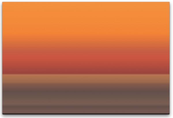 Ozean im Horizont Wandbild in verschiedenen Größen