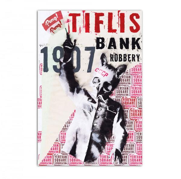 Tiflis bank robbery, Art-Poster, 61x91cm