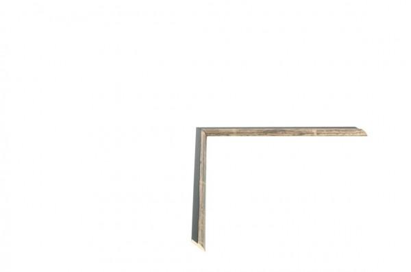Echtholz Bilderrahmen CANALETTO - Einlegeleiste Pewter