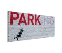 Parking Graffiti Bnksy 150x50cm