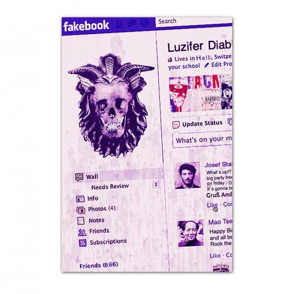 Fakebook, Art-Poster, 61x91cm