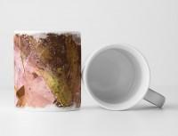 Tasse Geschenk Splashart + verschiedene Naturtöne