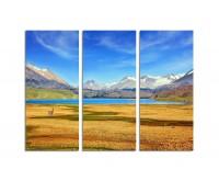 130x90cm Tal Berge Argentinien Landschaft