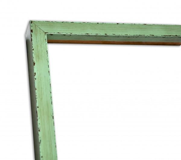 Moderne Rahmenleiste schmal Graugrün
