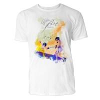 Fechten Duell Sinus Art ® T-Shirt Crewneck Tee with Frontartwork