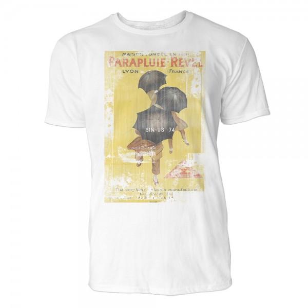 Parapluie Revel Herren T-Shirts in Karibik blau Cooles Fun Shirt mit tollen Aufdruck