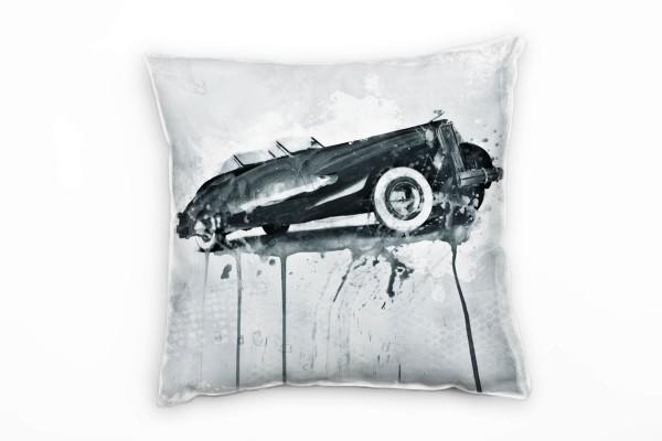 1937 Cadillac v16 Deko Kissen Bezug 40x40cm für Couch Sofa Lounge Zierkissen