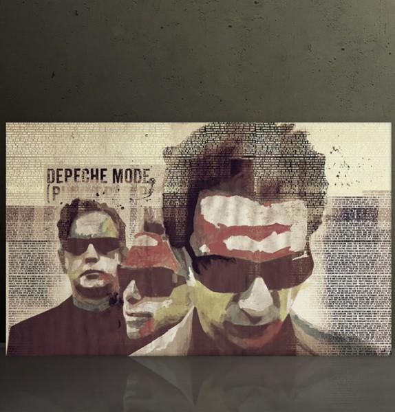 Depeche Mode 7, 70x120 cm