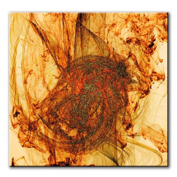 Aufruhr, abstrakt, 60x60cm