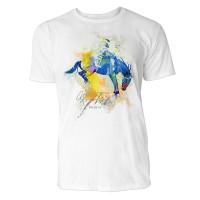 Pferdesport  Sinus Art ® T-Shirt Crewneck Tee with Frontartwork