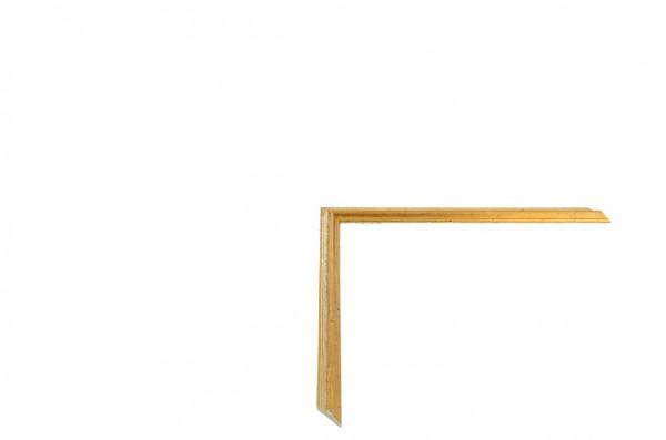 Echtholz Bilderrahmen ACADEMIE - Einlegeleiste Gold