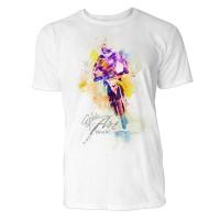 Rallye Sinus Art ® T-Shirt Crewneck Tee with Frontartwork