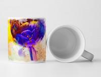 Blume VII Tasse als Geschenk,  Design Sinus Art