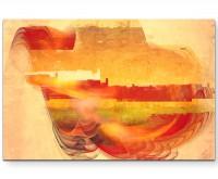 Nothing Else Matters - Sinus Art Wandbild auf Leinwand ENIGMA SERIE