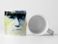Charles Darwin I Tasse als Geschenk,  Design Sinus Art