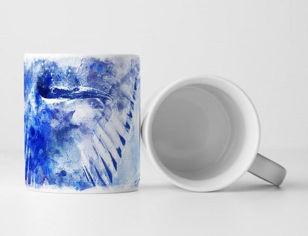 Bird Tasse als Geschenk, Design Sinus Art