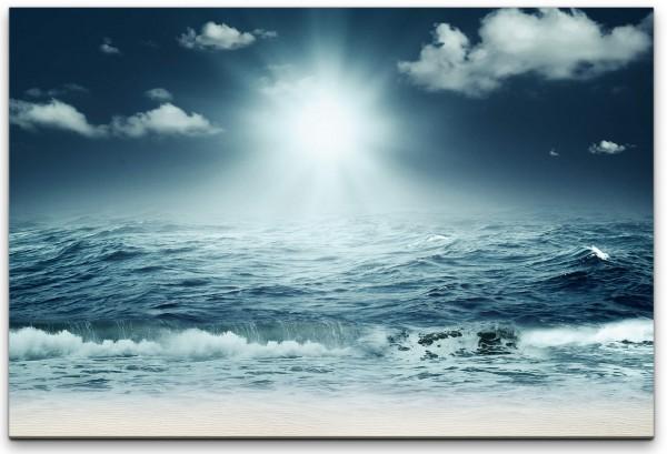Meer mit Strand Wandbild in verschiedenen Größen