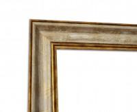 Vintage Bilderrahmen Gold Beige foliert