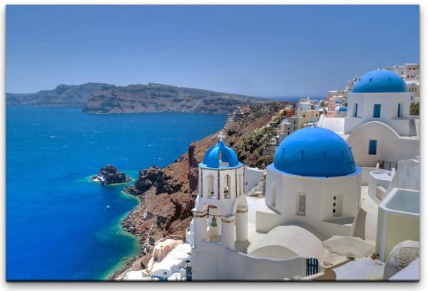 Griechenland Kirche Wandbild in verschiedenen Größen