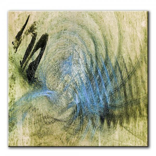 Wasserquelle, abstrakt, 60x60cm