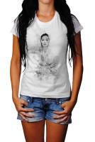 Ava Gardner II Herren und Damen T-Shirt BLACK-WHITE