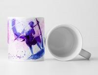 Windsurfer I Tasse als Geschenk,  Design Sinus Art