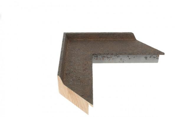 Echtholz Bilderrahmen ANVIL II - aged steel
