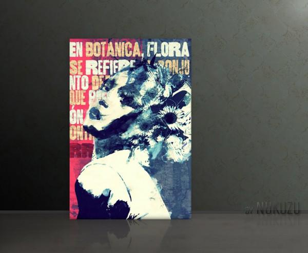 FLORA 80x120cm