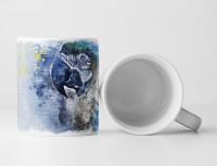 Papagei II Tasse als Geschenk,  Design Sinus Art