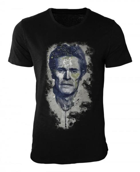 Willem Dafoe I Damen und Herren T-Shirt schwarz / black