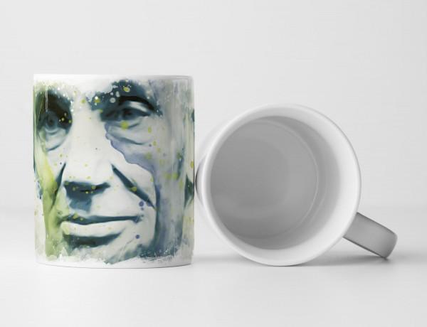 Abraham Lincoln I Tasse als Geschenk, Design Sinus Art