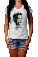 Arnold Schwarzenegger Herren und Damen T-Shirt BLACK-WHITE