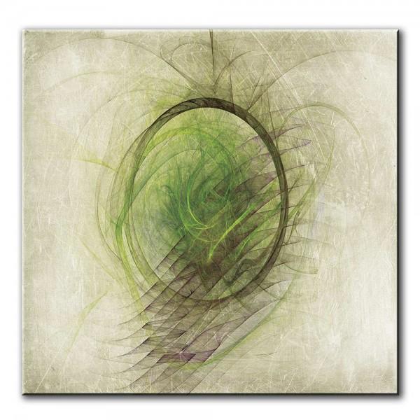 Edler Frühling, abstrakt, 60x60cm