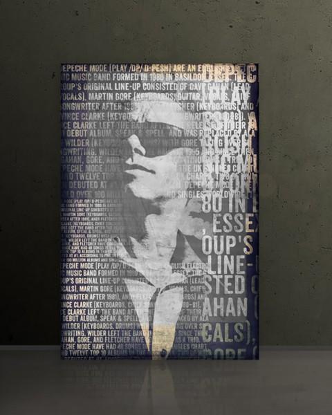 Depeche Mode 4 - Martin L. Gore, 60x90 cm, Wandbild