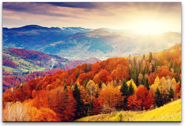 Herbstlandschaft Wandbild in verschiedenen Größen