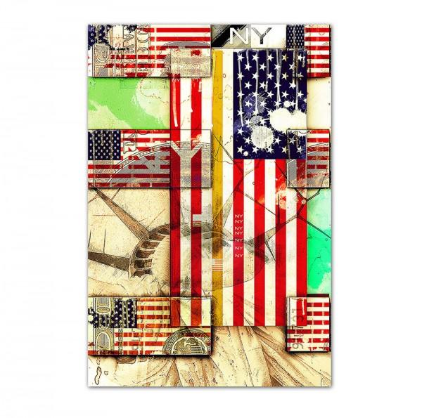 USA 1, Art-Poster, 61x91cm