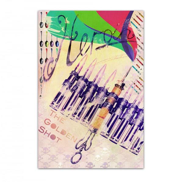 Golden Shot, Art-Poster, 61x91cm
