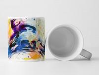 Bobsport Tasse als Geschenk,  Design Sinus Art