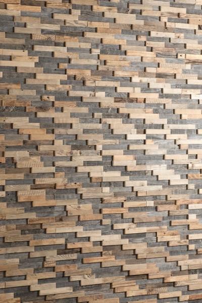 """Holz Naturwand : antikes Holz, Altholz - """"BRAVO"""""""