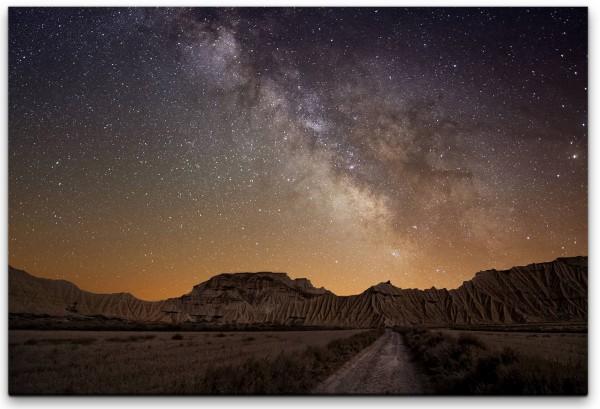 Sternenhimmel Wandbild in verschiedenen Größen