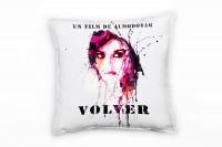 Penelope Cruz Volver Deko Kissen Bezug 40x40cm für Couch Sofa Lounge Zierkissen