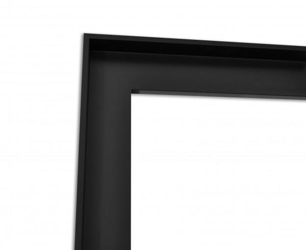 Schattenfuge XXL matt Schwarz mit schmaler Sichtkante