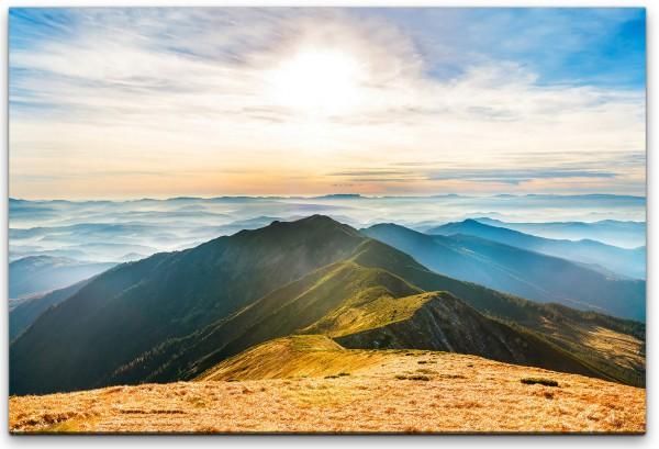 Berge Landschaft Wandbild in verschiedenen Größen