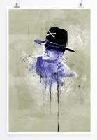 Apocalypse Now 90x60cm Paul Sinus Art Splash Art Wandbild als Poster ohne Rahmen gerollt