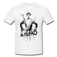 Wladimir-Klitschko Herren und Damen T-Shirt BLACK-WHITE